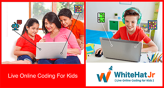 Start Your Free Trial | Live Online Coding for Kids | WhiteHat Jr.